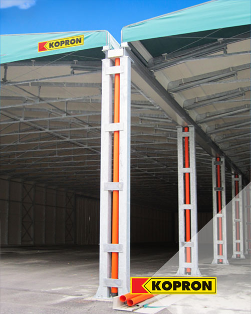 PVC-double-side-warehouses-Kopron-for-Italian-Waste-Recycling-Company