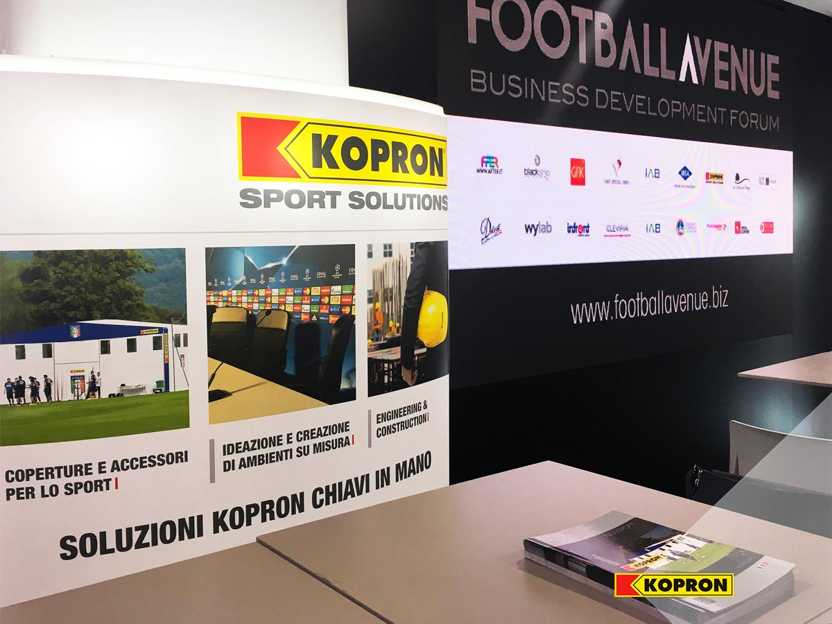 Stand-Kopron-Sport-Solutions-per-Business-Development-Forum