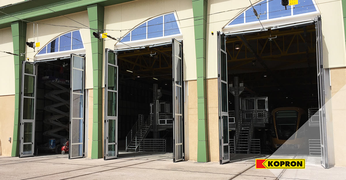 Kopron-folding-doors-for-railway-station-in-Algeria